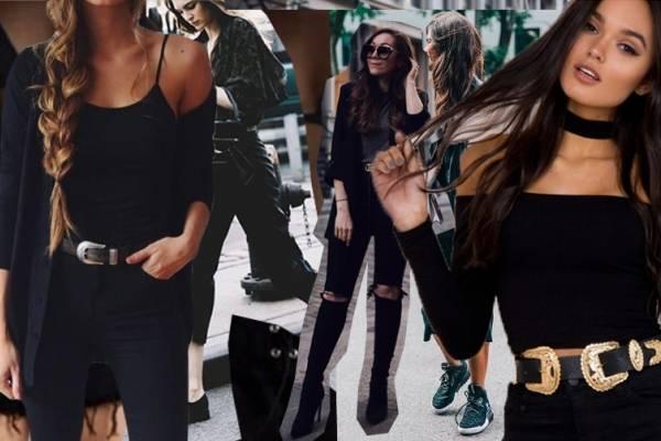 Cómo vestir negro cuando no es tu mejor color